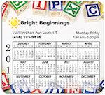 Calendar Round Corner Magnets